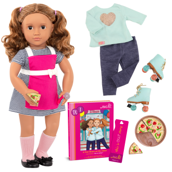 Isa Deluxe 18-inch Doll with Storybook