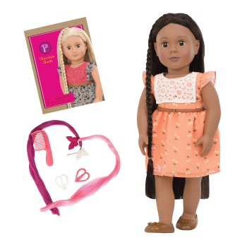 BD31088 Zuri Hairplay Doll all components