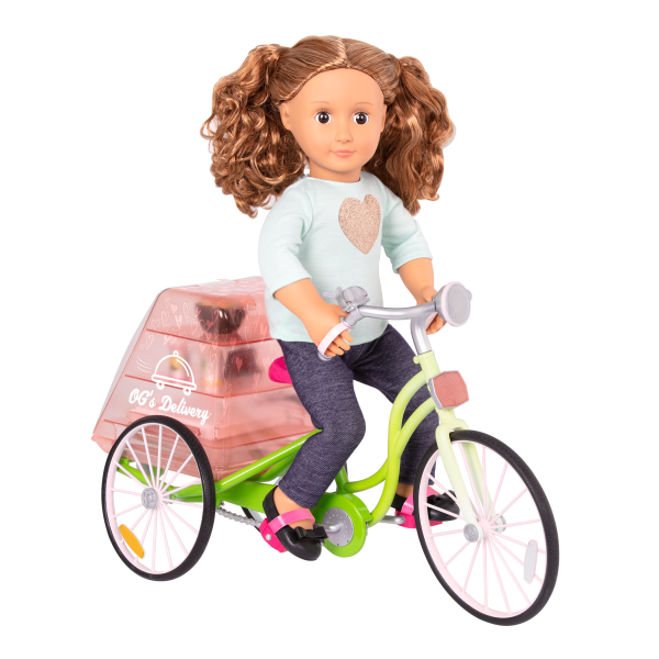 OG Delivery Bike for 18-inch Dolls with Isa