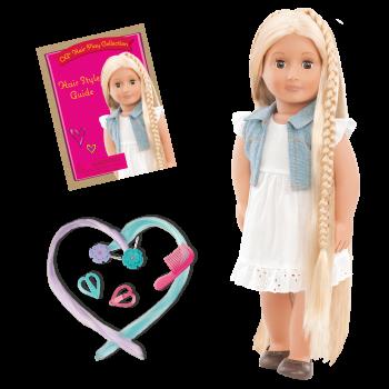 18-inch Doll Phoebe & Berry Nice Salon Day Set Bundle