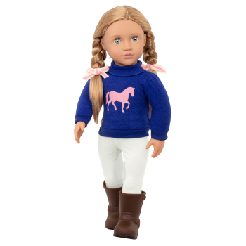 Montana Faye 18-inch Riding Doll