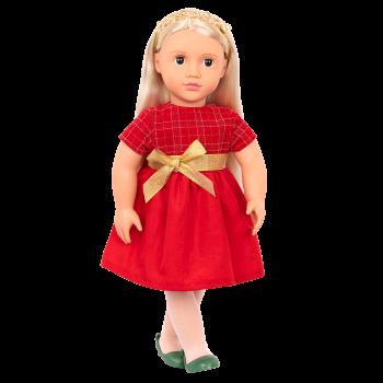 Bria 18-inch Holiday Doll