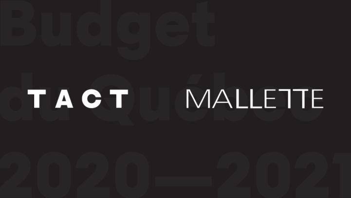Quebec Budget — 2020-2021