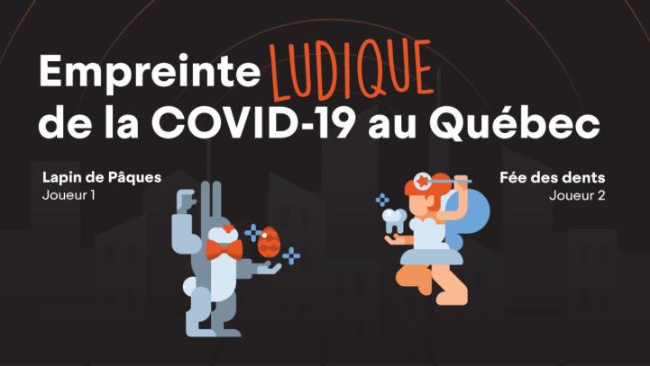 Empreinte ludique de la COVID-19 au Québec