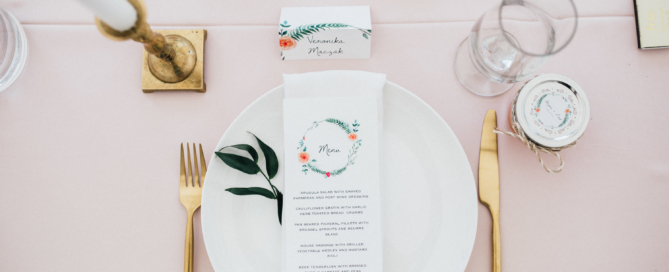 escort cards and place cards