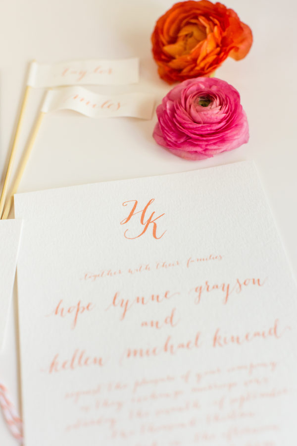 Living Coral Pantone colour of the year 2019 Melanie Parent Events