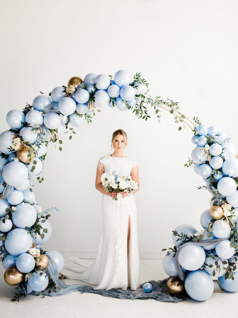 dusty blue wedding inspiration Melanie Parent Events