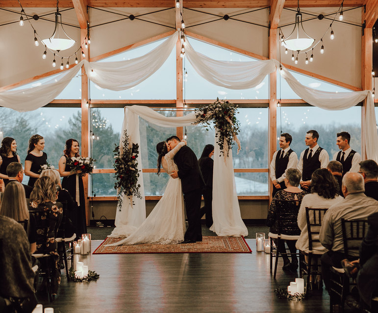 St. Boniface Golf Course wedding