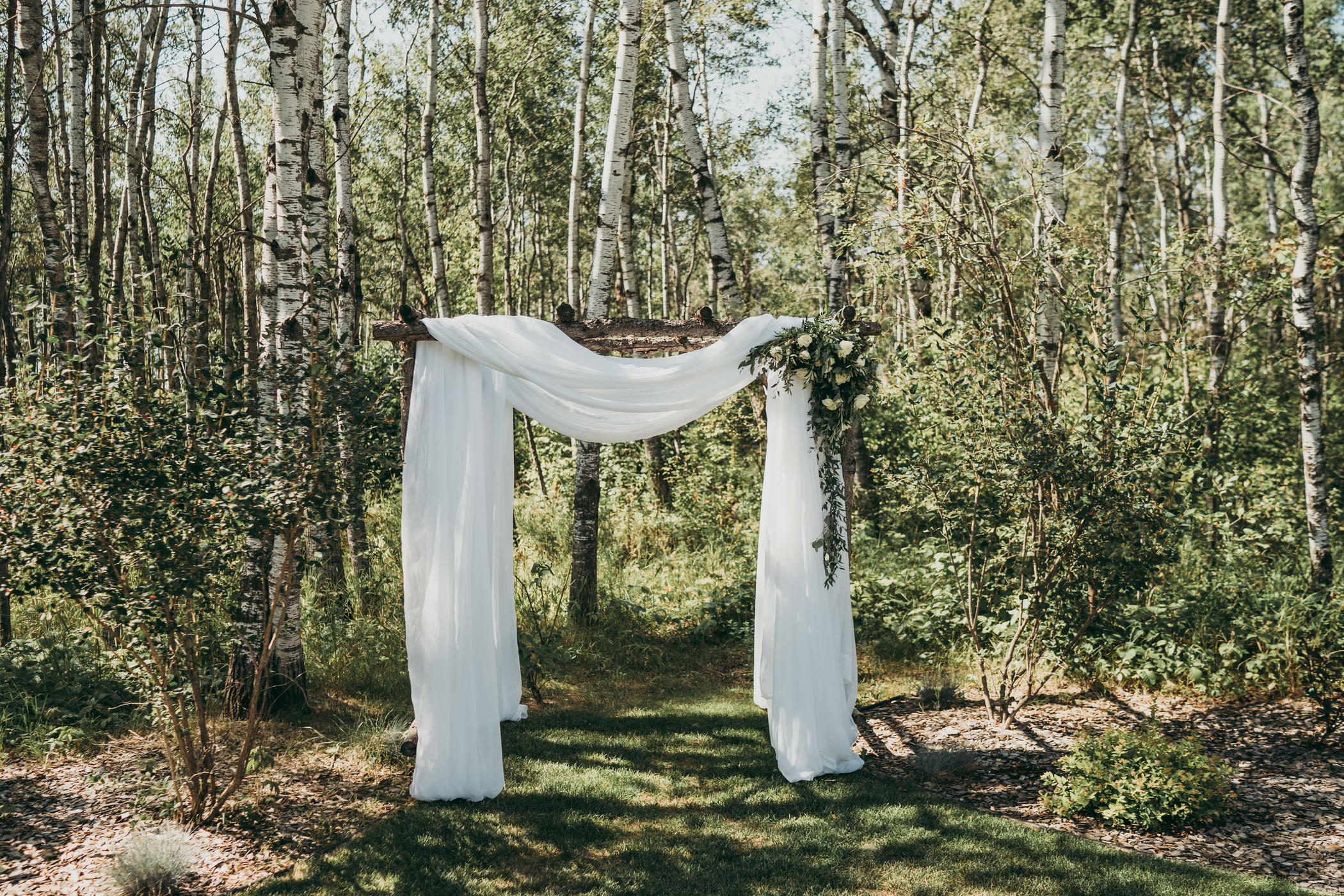Manitoba tent wedding