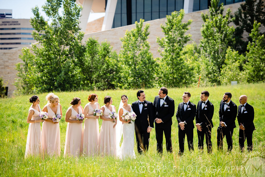 Canadian Museum for Human Rights wedding