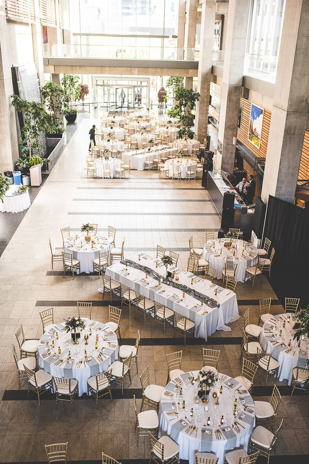 Wedding at Manitoba Hydro