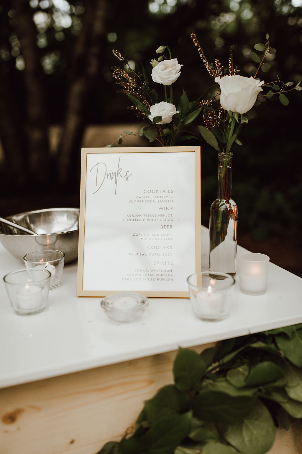 type of Bar you can offer at your wedding