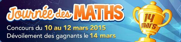 La Journée des maths 2015 au Québec
