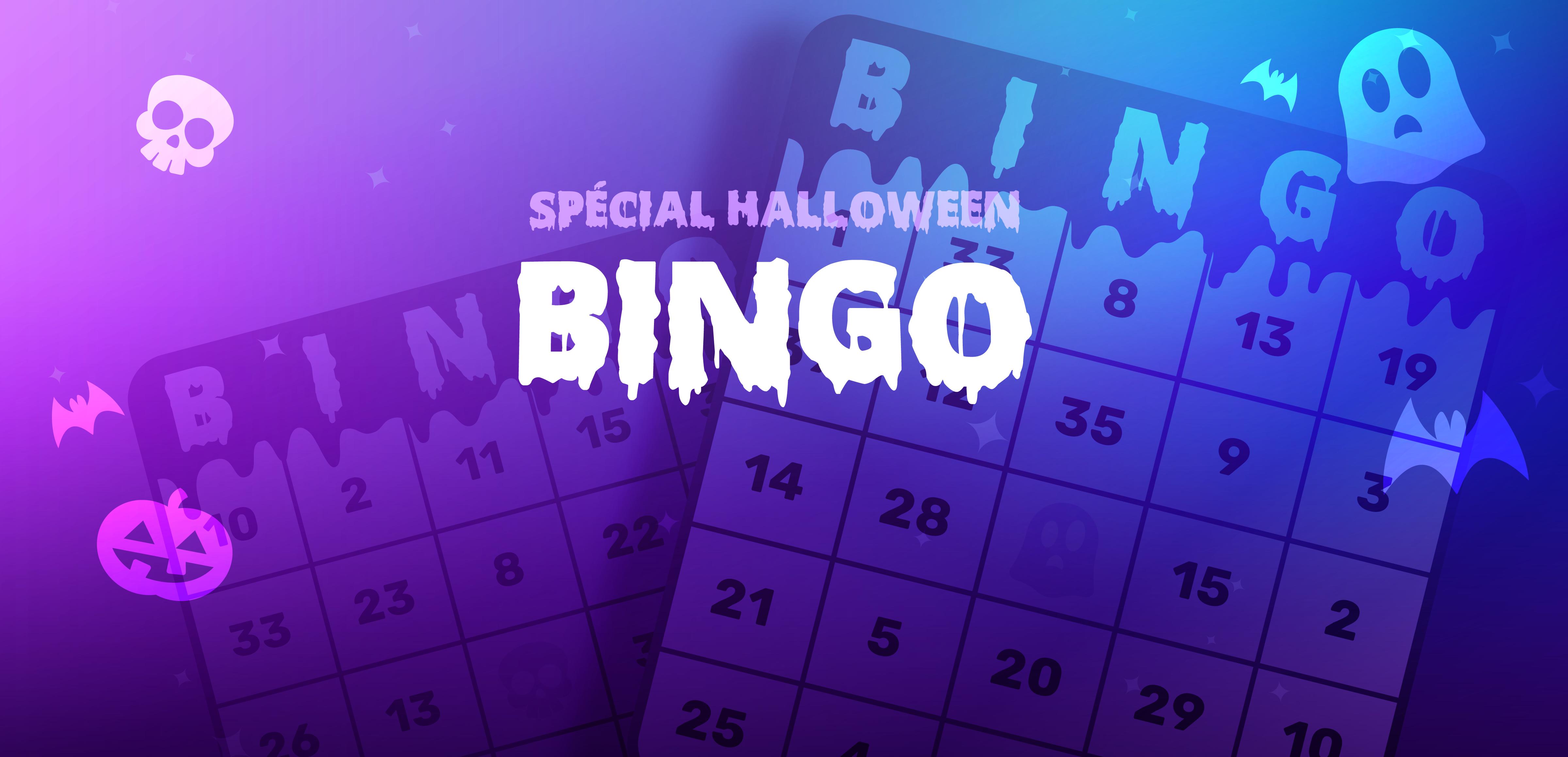 Activités d'Halloween :  Bingo mathématique!