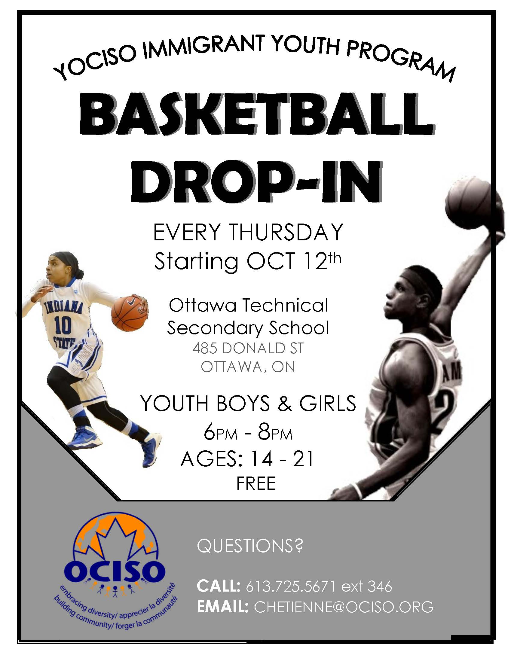 Basketball Drop-In