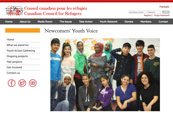 Canadian Council for Refugees – Youth Network