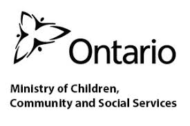Logo of OCISO funder: Ontario Ministry of Children, Community and Social Services