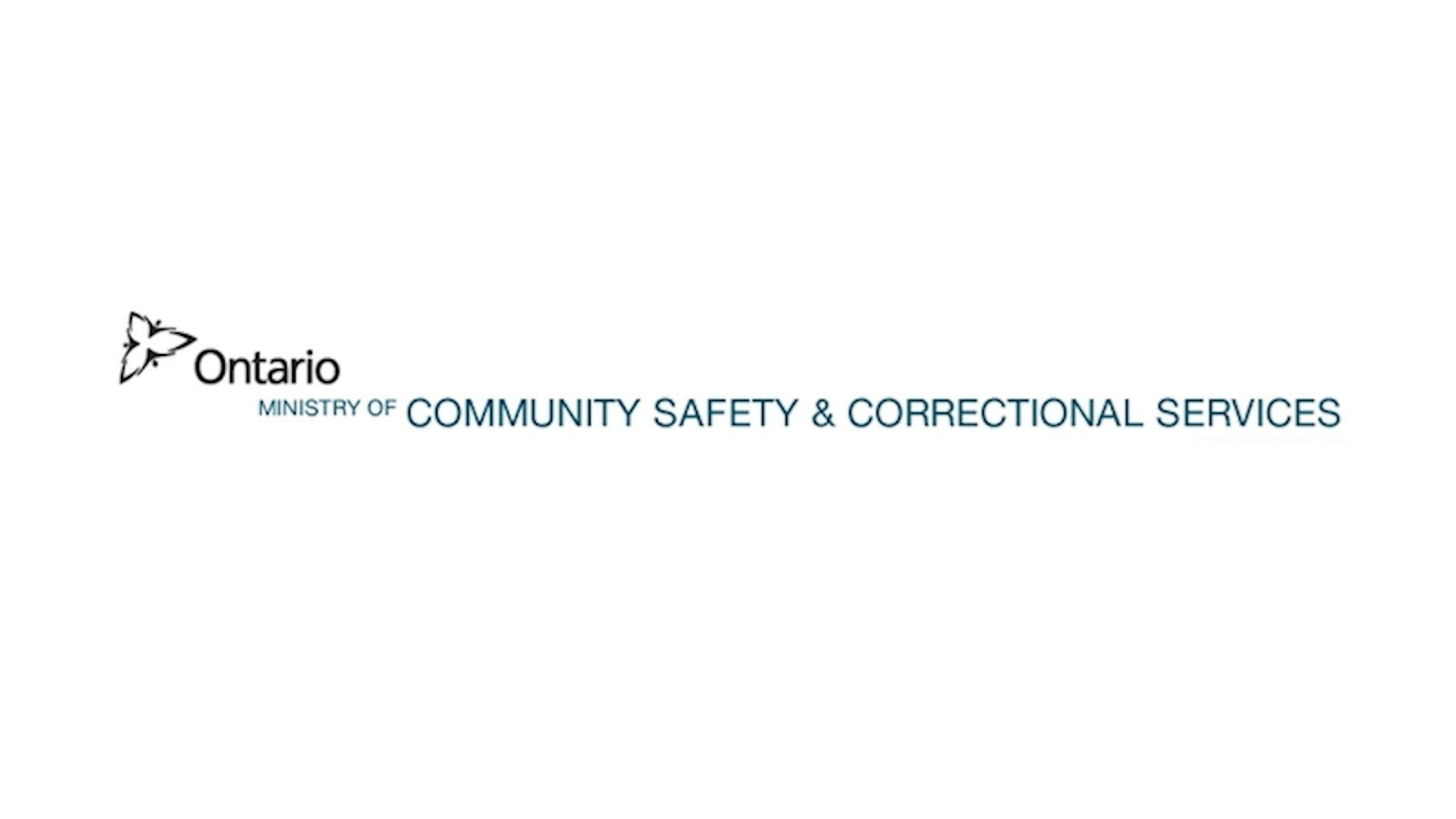 Logo of OCISO funder: Ontario Ministry Of Community and Correctional Services