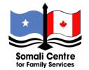 Logo of OCISO Partner: Somali Centre for Family Services (SCFS)