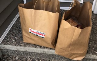 Groceries delivered to OCISO client during COVID-19 pandemic