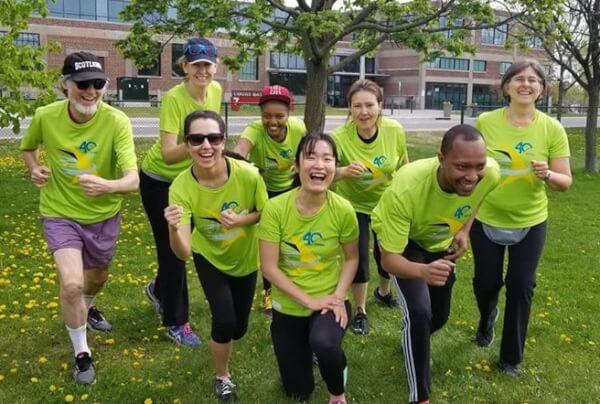 Run for a New Start participants