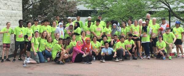 2018 Run For A New Start runners