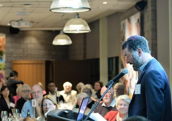 2018 MDSF fundraising dinner: Paul Dewar giving speech