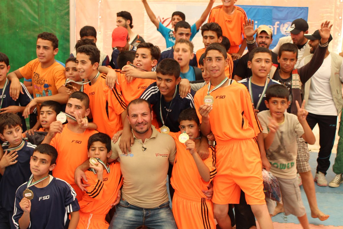 Mohammed Alkarad, wrestling program coach with youth