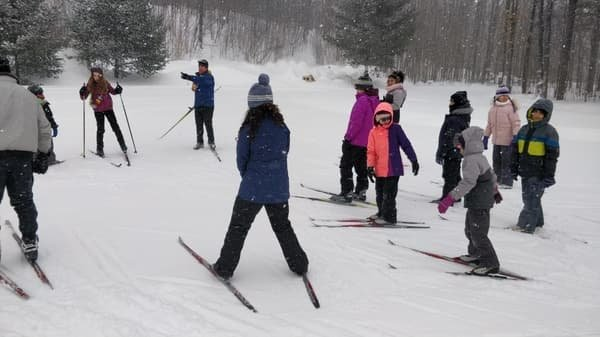 Friends of Family ski/snowshoe day for newcomers #6