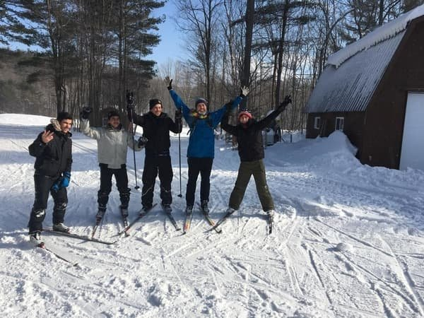 Friends of Family ski/snowshoe day for newcomers #4