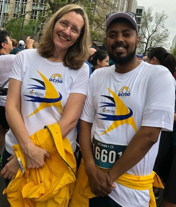 52019 Run For A New Start participants on Race Weekend #5