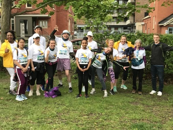 52019 Run For A New Start participants on Race Weekend #6