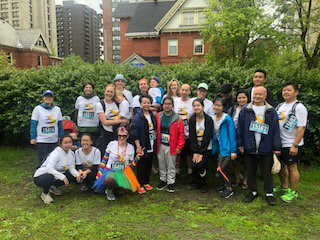 2019 Run For A New Start participants on Race Weekend #14
