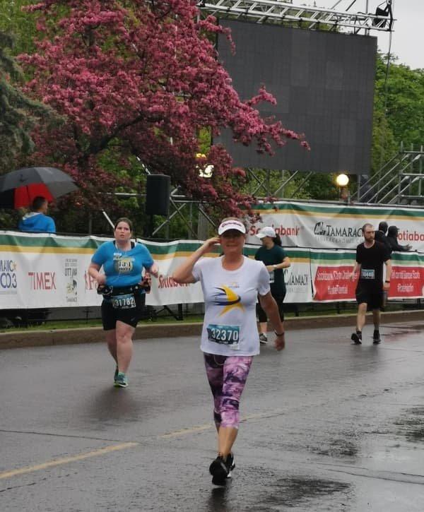 2019 Run For A New Start: participants running #3