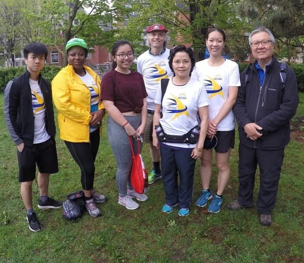 2019 Run For A New Start participants on Race Weekend #8
