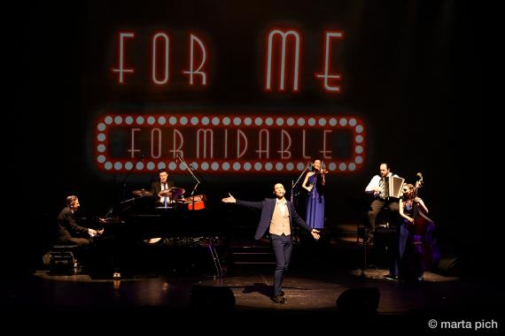 Concours ICI Musique (terminé) : Le temps d'une chanson vous invite à Québec pour voir Formidable! Aznavour, l'histoire d'une légende