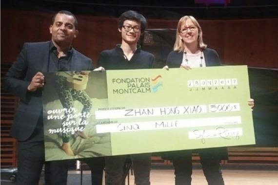 Le grand gagnant de Virtuose récompensé par la Fondation Palais Montcalm