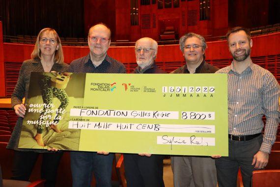 8 800 $ amassés au profit de la Fondation Gilles Kègle