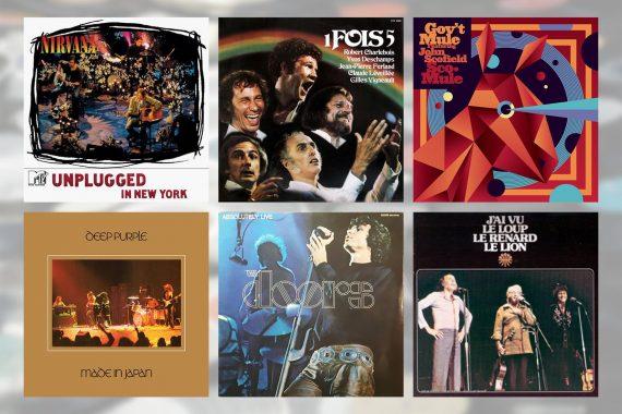 Six albums