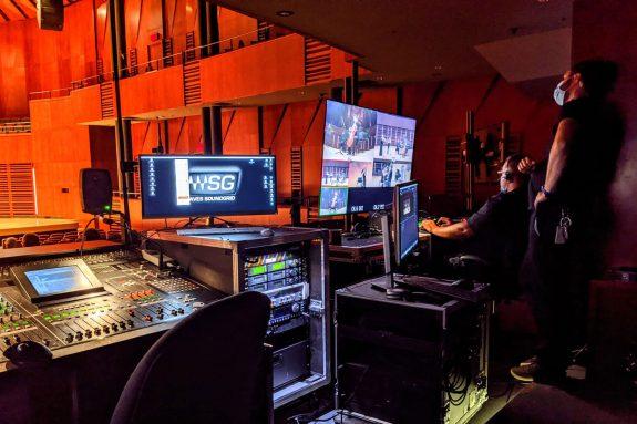 Matériel, équipement, régie, consoles et caméras de captation et de diffusion vidéo au Palais Montcalm