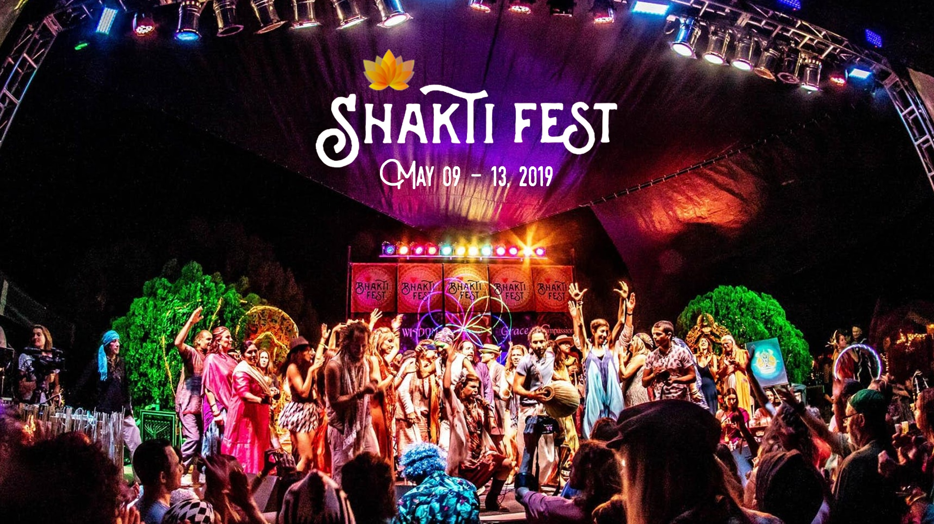 From the Arctic Ocean to the Desert, YOGIS UNITE For MAPS at Shakti Fest