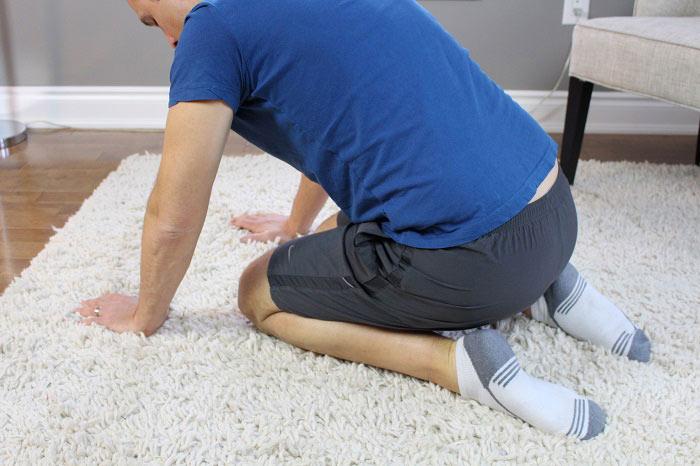 ankle plantar flexion self mobilisation