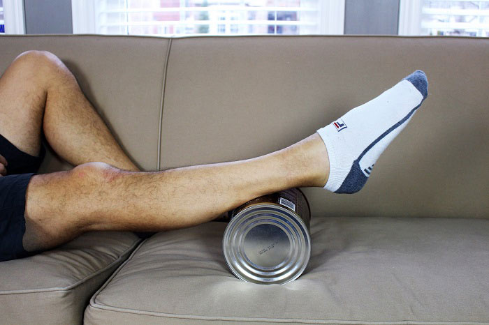 calf pumping on a can 1