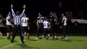 Andrew Wedwick powered his way into the end zone for the touchdown.