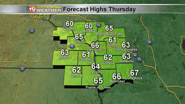 Sunny & Warmer Today! Isolated Showers Return Tomorrow…