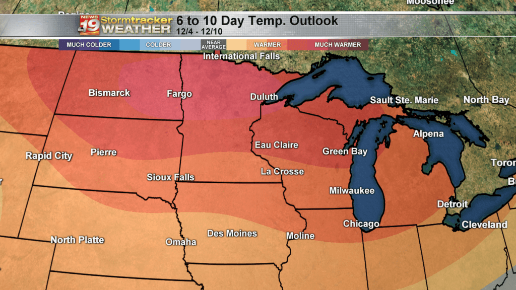 Climate Prediction Center 6-10 Temperature Outlook