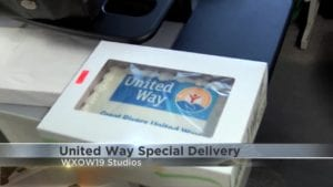 Great Rivers United Way Cake