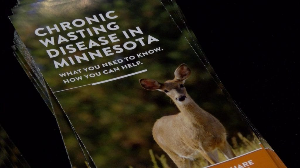 Learning more about chronic wasting disease in Eastern Minnesota