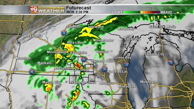 Futurecast Monday