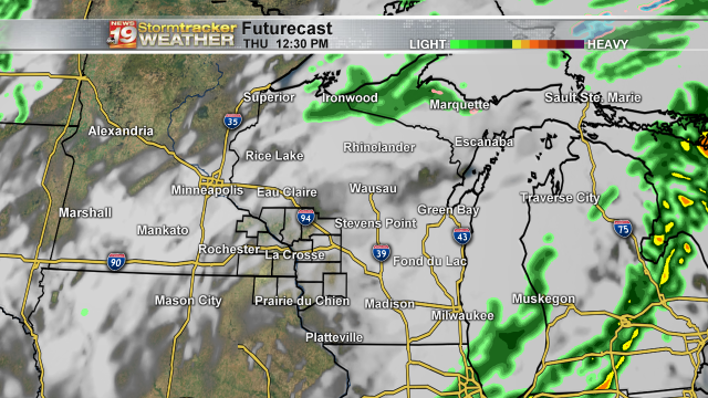 Futurecast Thursday Afternoon